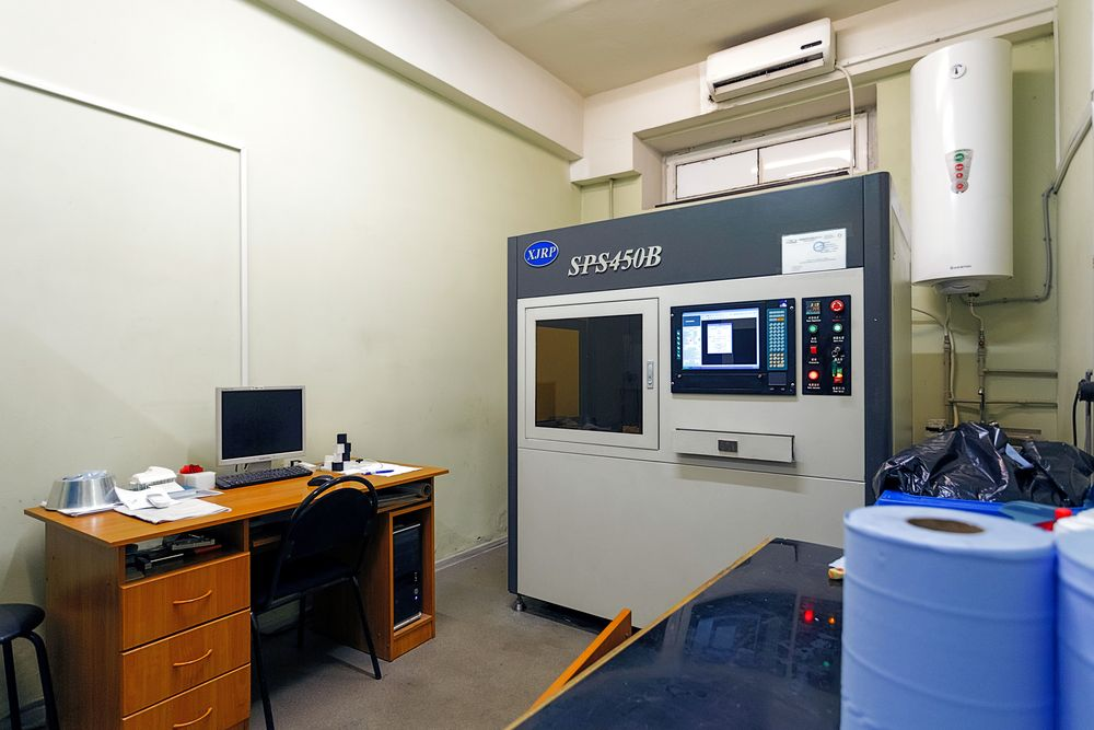 3D-печать SLA в Фолипласт
